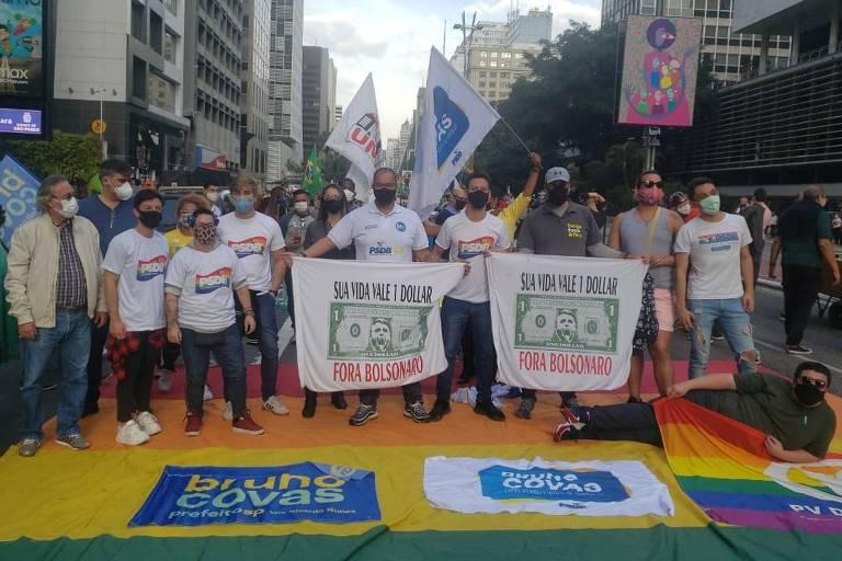 Líderes da esquerda vão de repúdio discreto a silêncio sobre agressão a tucanos em protesto na Paulista