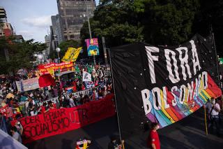 Protesto contra Bolsonaro - 3 julho