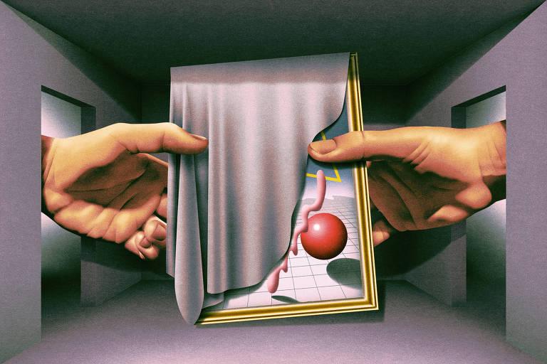 Ilustração de Max Loeffler publicada no jornal The New York Times