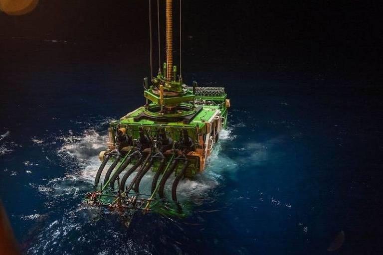 Patania II é um dos protótipos em desenvolvimento para a atividade mineradora no fundo do mar