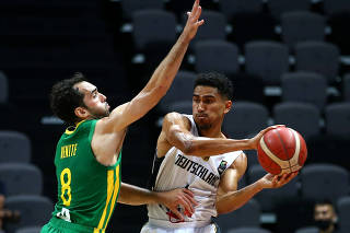 FIBA Olympic Qualifying Tournament Final - Germany v Brazil