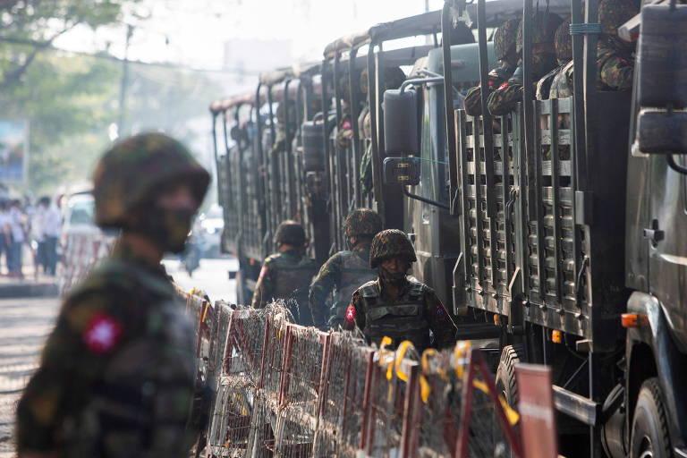 Confronto entre Exército e opositores deixa 25 mortos em Mianmar