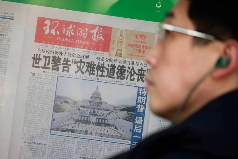 De 'efeito de arrepio' à 'senhora-escândalo', mídia chinesa vive rédea curta sob Xi