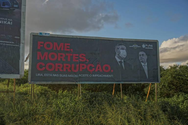 Campanha em Alagoas pressiona Lira por análise de superpedido de impeachment