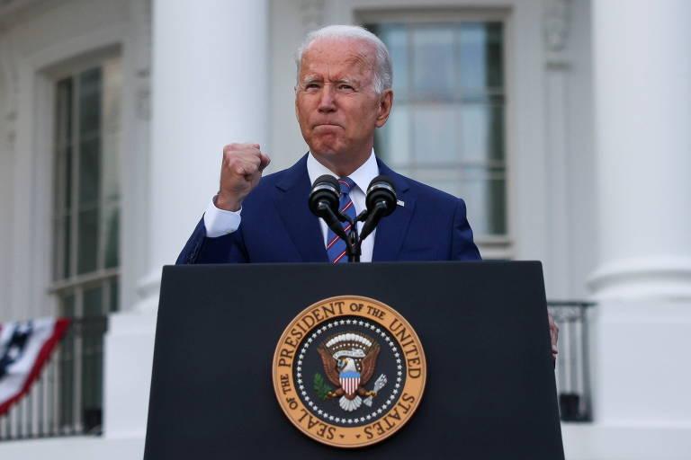 É manhã na América de Joe Biden