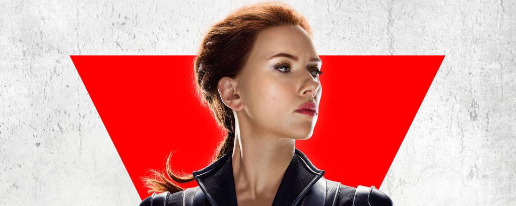 Scarlett Johansson em cartaz do filme