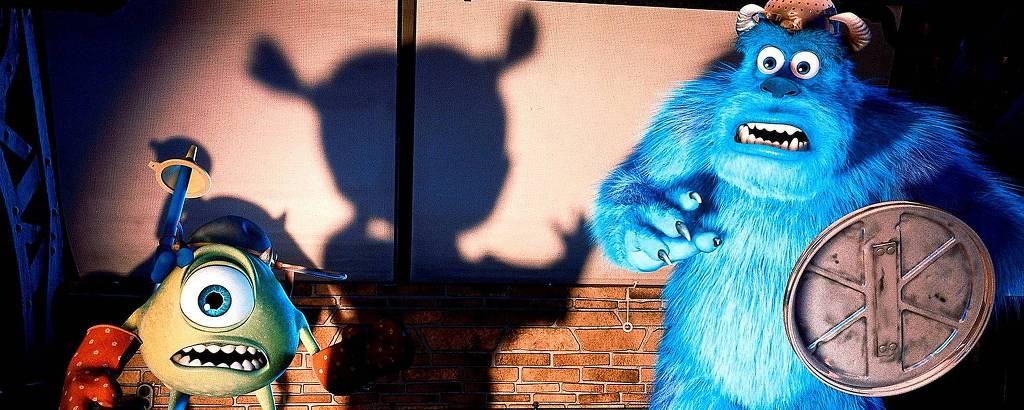 Cena da animação 'Monstros S.A.', da Disney