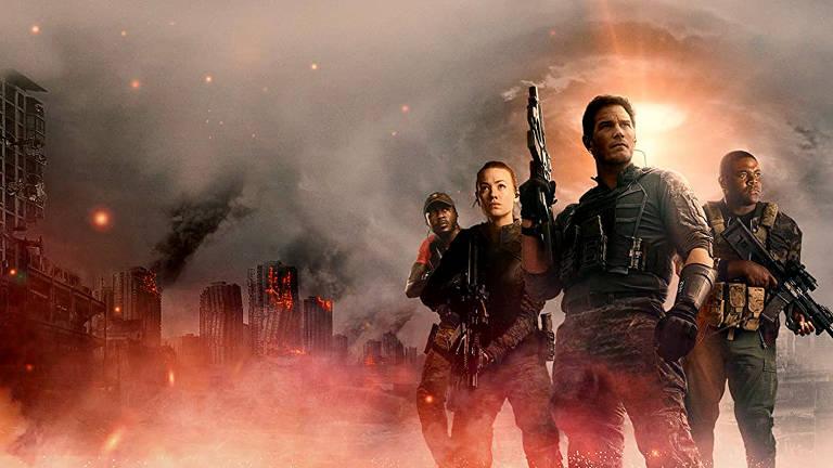 Imagens filme A Guerra do Amanhã