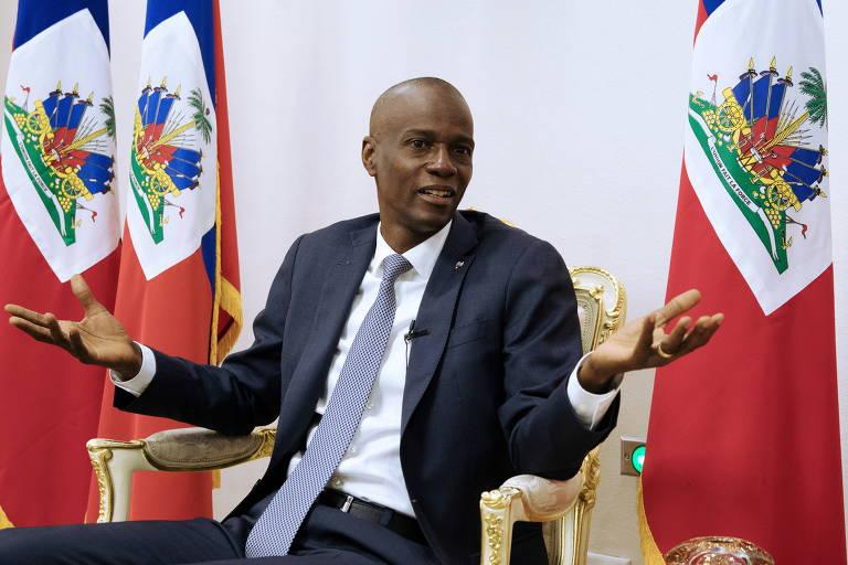 Jovenel Moise, presidente do Haiti que foi assassinado na madrugada desta quarta-feira (7)