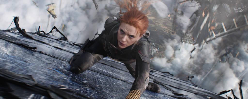 Scarlett Johansson em cena do filme