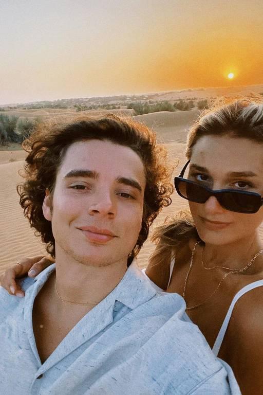 A lua de mel do casal Sasha Meneghel e João Figueiredo
