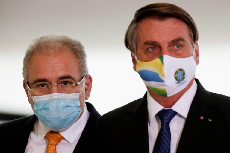 Ministério da Saúde com Marcelo Queiroga