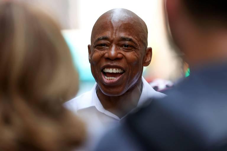Ligado ao lobby imobiliário, Eric Adams caminha para se tornar 2º prefeito negro de Nova York