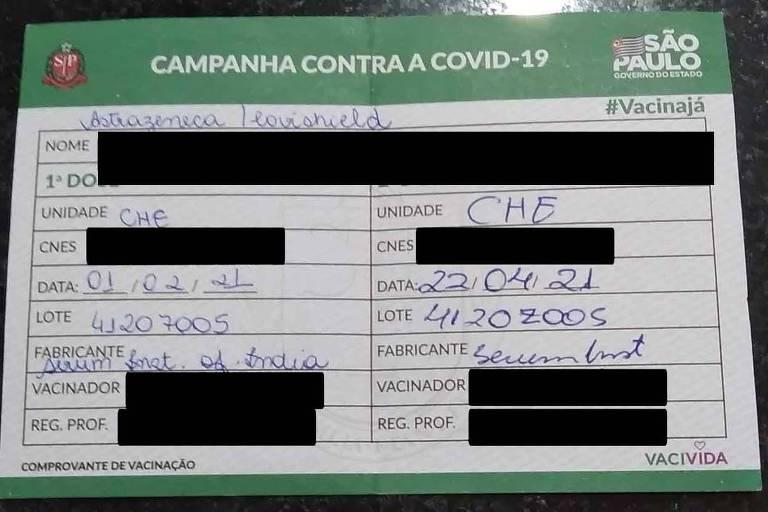 Funcionários de hospital provam ter tomado vacina vencida, e Santos decide revacinar