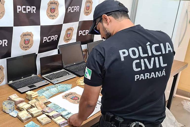 Polícia prende 41 por golpes de R$ 30 milhões em falso empréstimo