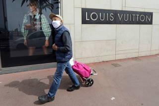 FILE PHOTO: Coronavirus disease (COVID-19) outbreak in Cannes