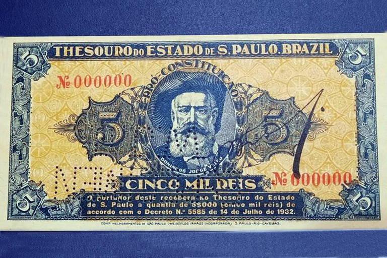 Cédula de dinheiro