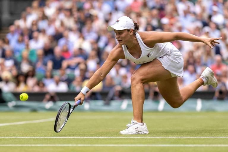 Barty e Pliskova disputam final do torneio feminino de tênis de Wimbledon