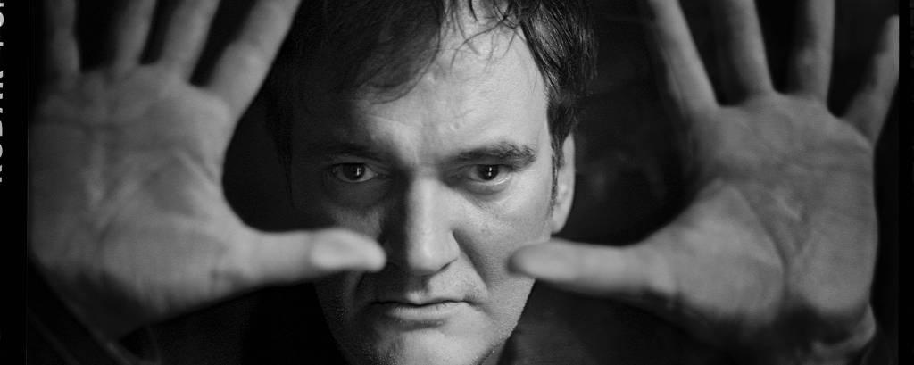 Retrato do cineasta Quentin Tarantino feito em 2012