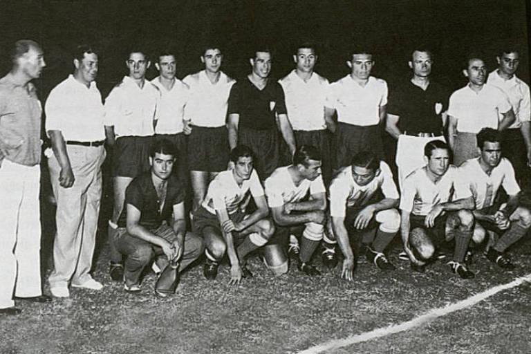 Equipe argentina que foi campeã da Copa América de 1937 tinha Antonio Sastre, que depois foi ídolo no São Paulo