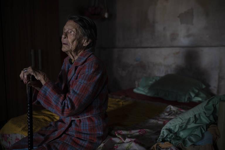 Nilda DAndreia dos Santos, 102, se recusou a tomar a vacina contra Covid-19 por dois meses