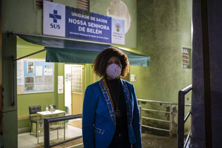 Elaine Soares, coordenadora de Políticas Públicas em Saúde de Porto Alegre