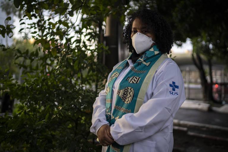 Gisele Gomes, coordenadora de Saúde da População Negra de Porto Alegre