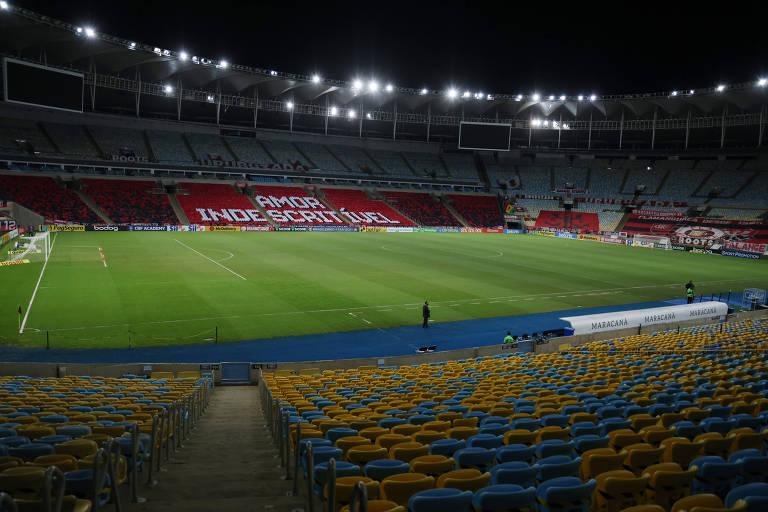 Estádio do Maracanã deve receber público na partida entre Flamengo e Grêmio pela Copa do Brasil