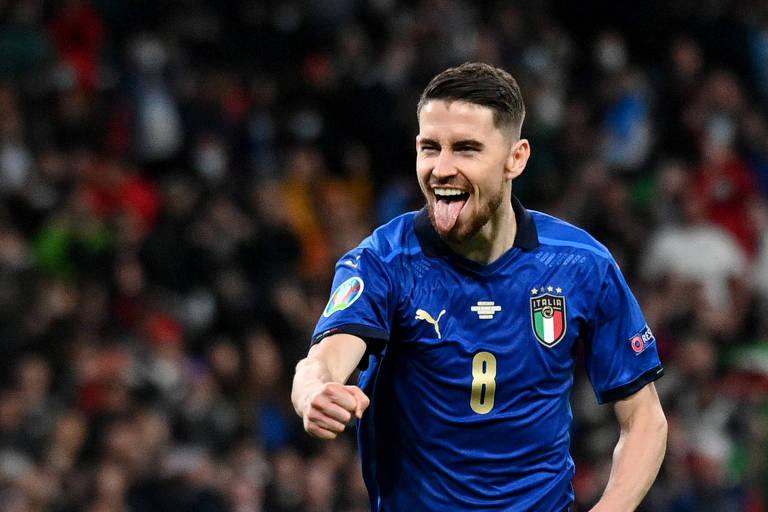 Caso a Itália seja campeã, Jorginho pode entrar para a lista de jogadores que venceu a Champions e a Euro no mesmo ano