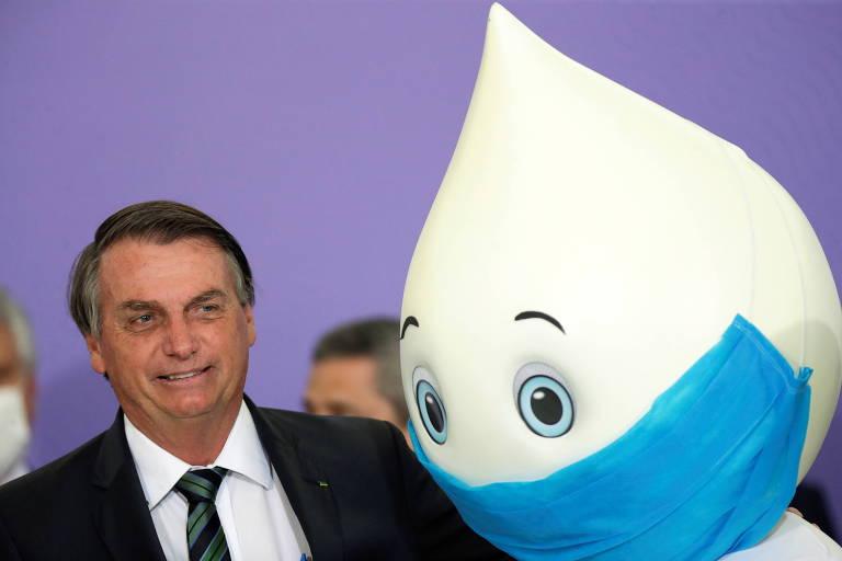 Datafolha: 56% reprovam gestão de Bolsonaro contra Covid, e 46% o culpam por situação atual na pandemia