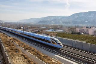 #CHINA-YINCHUAN-XI'AN RAILWAY-OPERATION (CN)