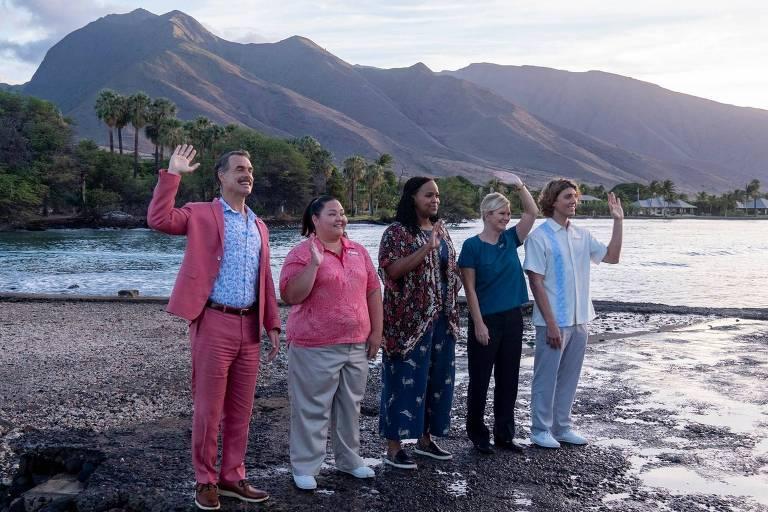 Resort de luxo no Havaí é cenário da minissérie cômica 'The White Lotus', na HBO