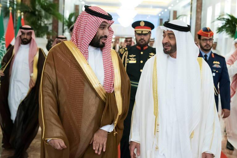 Alta do petróleo: a crescente rivalidade entre duas monarquias por trás da disparada de preços