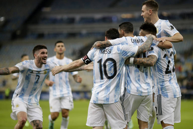 Final da Copa América entre Brasil e Argentina