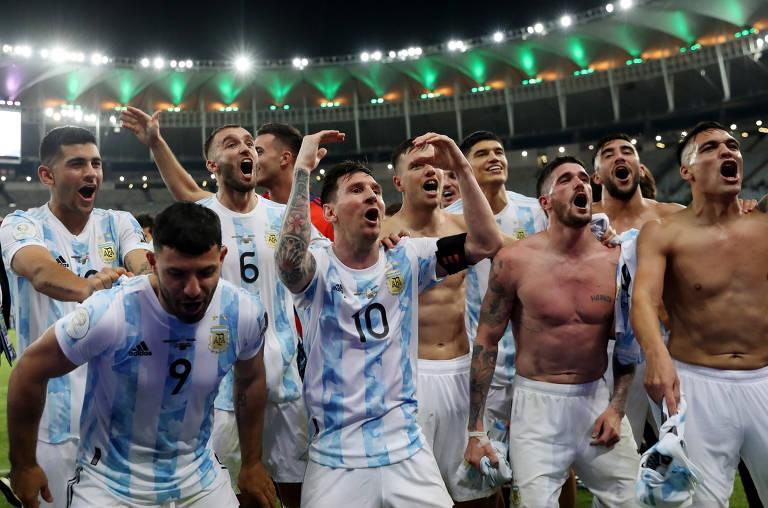 Título da Argentina merece comemoração, mas jogo não honra as duas escolas