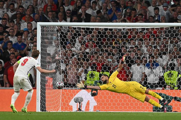 Inglaterra x Itália, decisão da Eurocopa