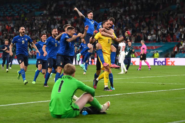 Inglaterra x Itália - Final da Eurocopa