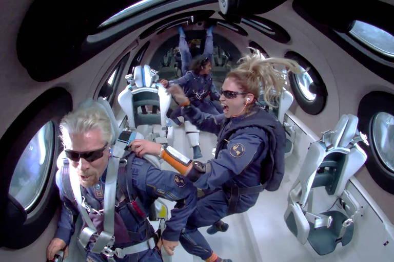 Magnata da Virgin gastou mais de US$ 1 bi para tocar a borda do espaço