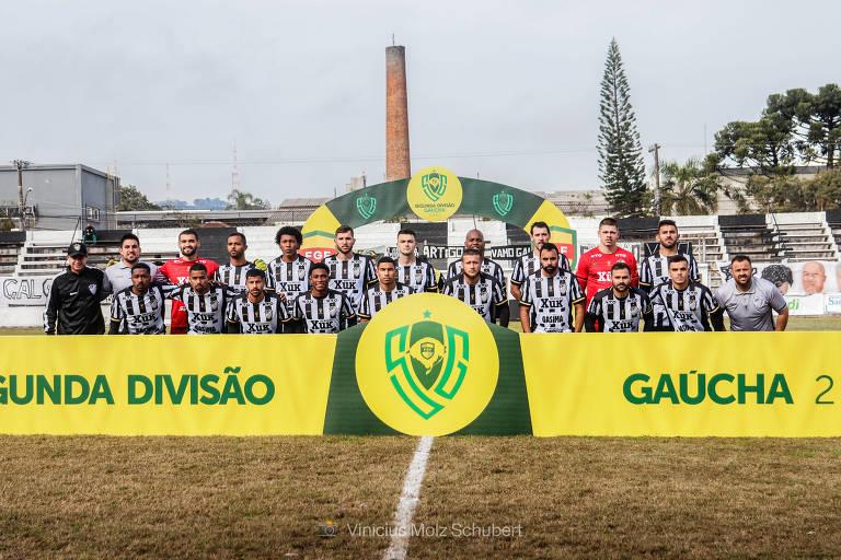 Santa Cruz, campeão da Segunda Divisão Gaúcha