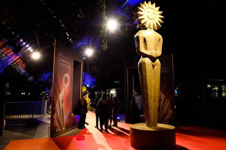 Palácio dos Festivais no 44º Festival de Cinema de Gramado