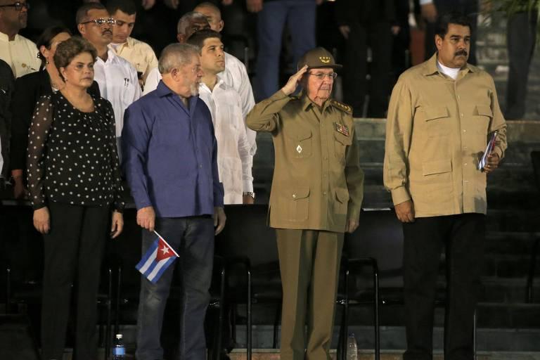 Apoio de Lula à ditadura cubana é lembrete incômodo para o petismo em 2022