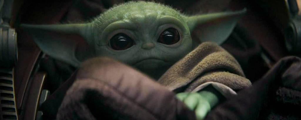 O Baby Yoda, famoso personagem de 'The Mandalorian'