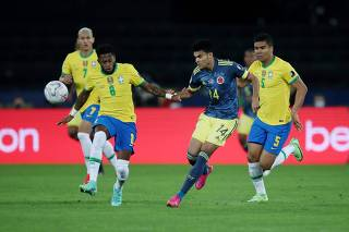 Copa America 2021 - Group B - Brazil v Colombia