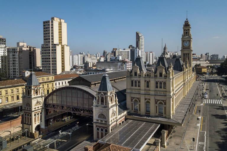 Veja fotos do Museu da Língua Portuguesa, que reabre depois de incêndio