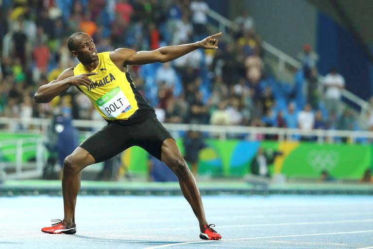 É melhor ter Olimpíada sem torcida do que não ter, afirma Usain Bolt