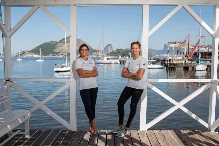 Martine Grael e Kahena Kunze chegam a Tóquio favoritas ao bi