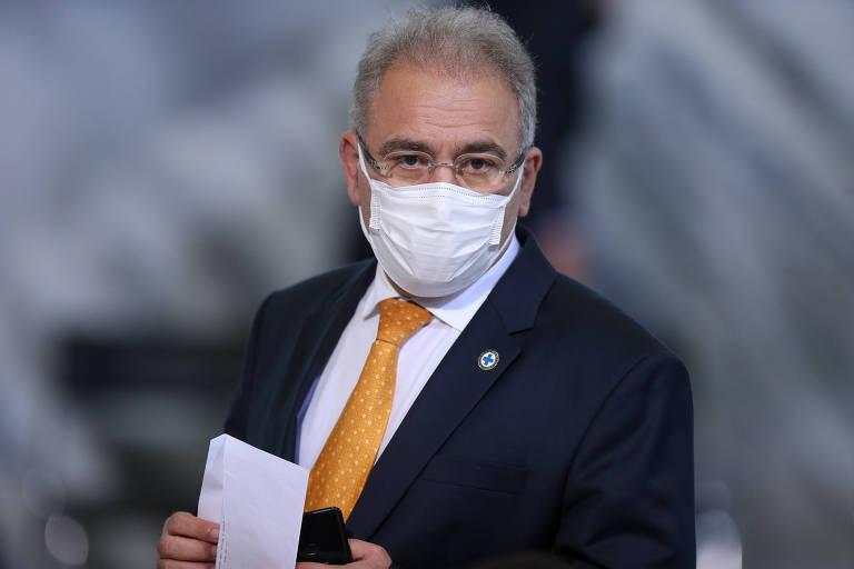 Programa de vacinação não precisa da Covaxin, diz ministro da Saúde