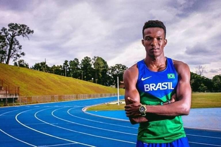 Felipe Bardi, do revezamento 4 x 100 m, aproveitou o adiamento para recuperar a forma física