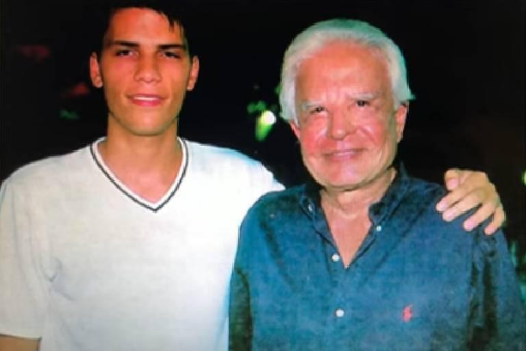 Roger Felipe e Cid Moreira