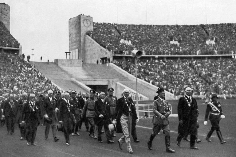 Jogos são cancelados durante as Grandes Guerras Mundiais
